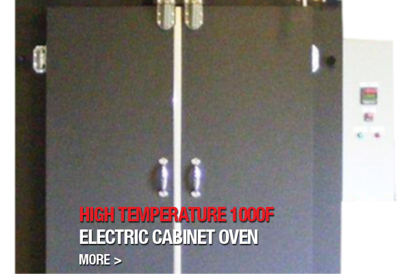 High Temperature Electirc Cabinet Oven