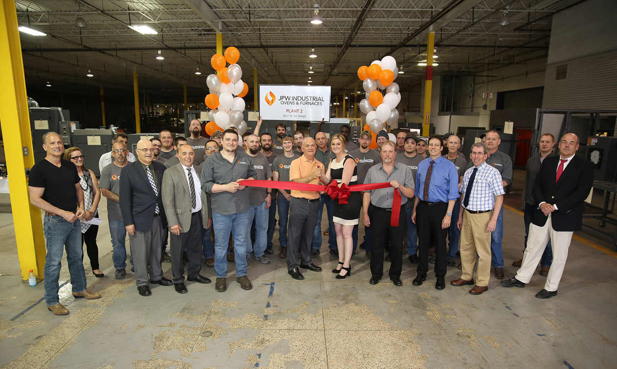 JPW Ribbon Cutting Photo